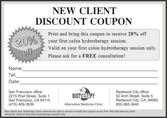 Aspen clinic discount coupons