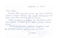 Justine Testimonial