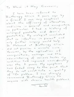 Thomas Testimonial